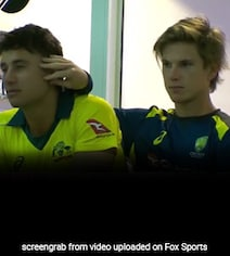 Watch: Marcus Stoinis And Adam Zampa's PDA Is Breaking The Internet