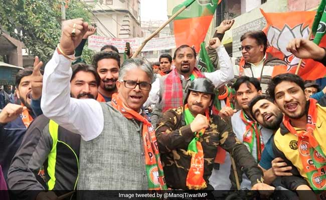 Manoj Tiwari Wears Army Jacket At BJP Rally, Turns Target For Opposition