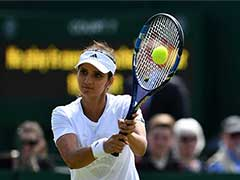 "Watch: Sania Mirza Returns To Tennis Court For First Time After Having Baby, Fans Call Her ""Inspiration"""