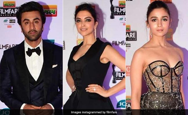 Filmfare Awards Highlights: Alia-Ranbir, Ranveer-Deepika Spotted Together
