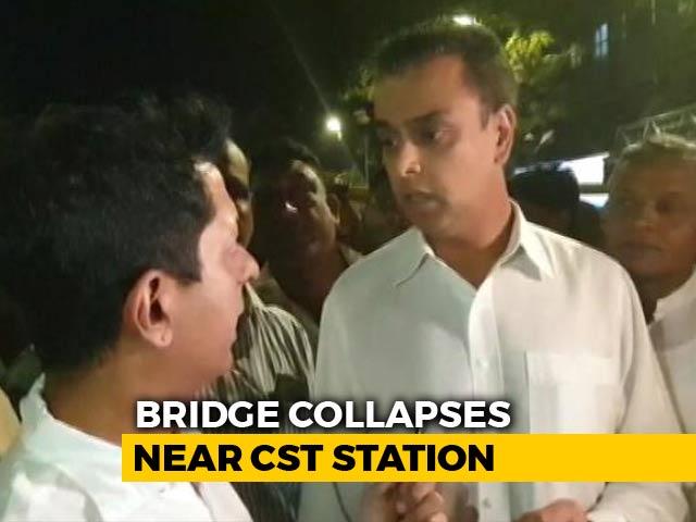 "Video : ""Fix The Accountability "": Congress's Milind Deora On Mumbai Bridge Collapse"
