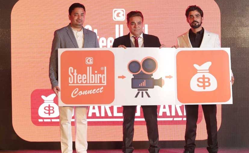 Steelbird Group - Managing Director - Rajeev Kapur at the Steelbird Connect event