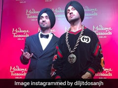 Diljit Dosanjh Unveils His Wax Statue At Madame Tussauds Delhi. See Pics