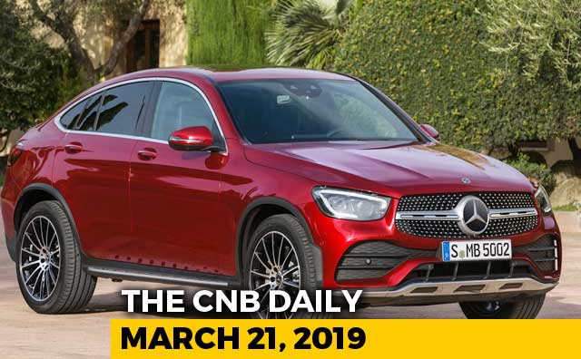 Mercedes-Benz GLC Coupe Facelift, 2019 Datsun redi-Go, Honda Two Wheelers