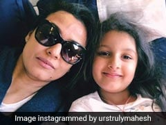 Women's Day 2019: Namrata Shirodkar And Sitara 'Shine Bright' In Mahesh Babu's Post