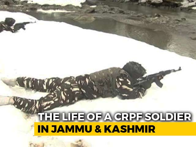 Video : A Day In The Life Of A CRPF Soldier In Jammu And Kashmir