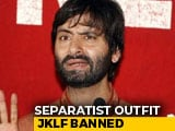 Video : Yasin Malik's Jammu Kashmir Liberation Front Banned Under Anti-Terror Law