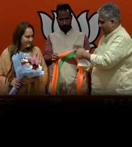 अभिनेत्री और पूर्व सांसद जया प्रदा हुईं बीजेपी में शामिल, रामपुर से आजम खान के खिलाफ लड़ेंगी चुनाव