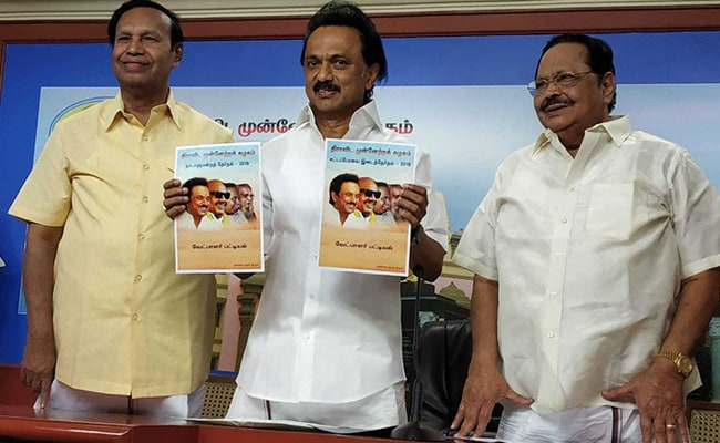 DMK Candidate List 2019: 13 New Faces, 2 Women In DMK List For Lok