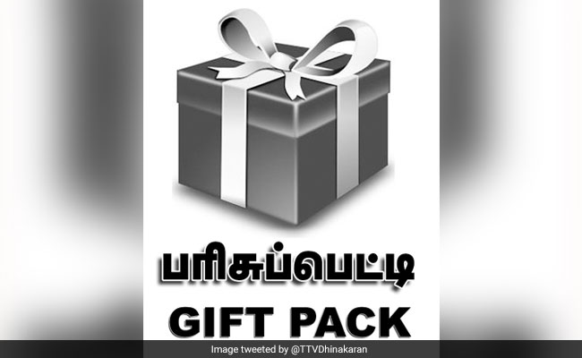 TTV Dhinakaran's Outfit Gets New Common Symbol  For Polls - 'A Gift Pack'