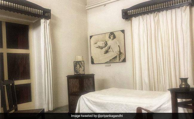 कांग्रेस महासचिव प्रियंका गांधी का इस कमरे से रहा है गहरा नाता, खुद बताई यह बात