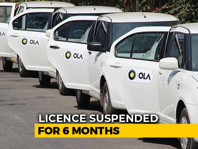 "Video : Ola Cabs Banned In Karnataka For 6 Months, Calls Order ""Unfortunate"""