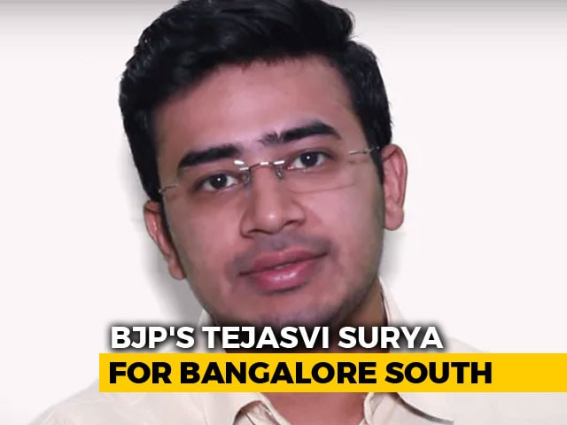 Video : BJP Fields Tejasvi Surya From High-Profile Bangalore South Seat
