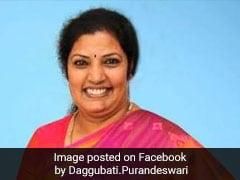 Daggubati Purandeswari BJP's Candidate From Visakhapatnam Seat
