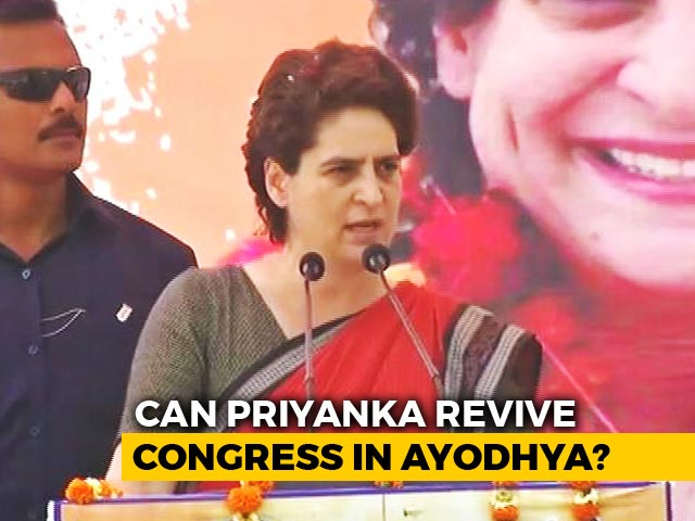 "Video : ""PM Tours World, No Time To Visit Villages In Varanasi"": Priyanka Gandhi"