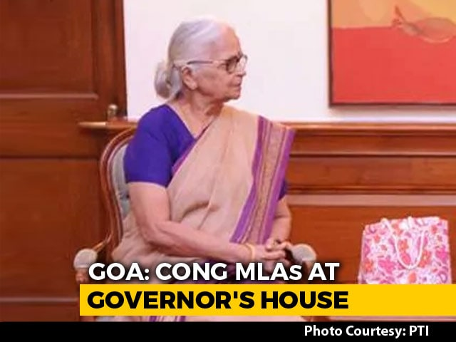 Video : As BJP Tackles Demanding Goa Allies, Congress Meets Governor