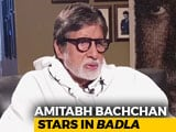 Video : Amitabh Bachchan On <i>Badla</i>, Working With Young Actors, & More