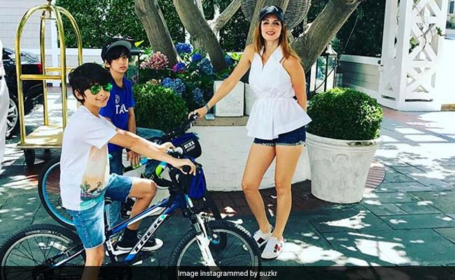 Sussanne Khan: My Boys Give Me All The Inspiration I Need