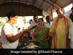 "Shashi Tharoor's ""Squeamishly Vegetarian"" Tweet Caught In Farrago Of Jabs"