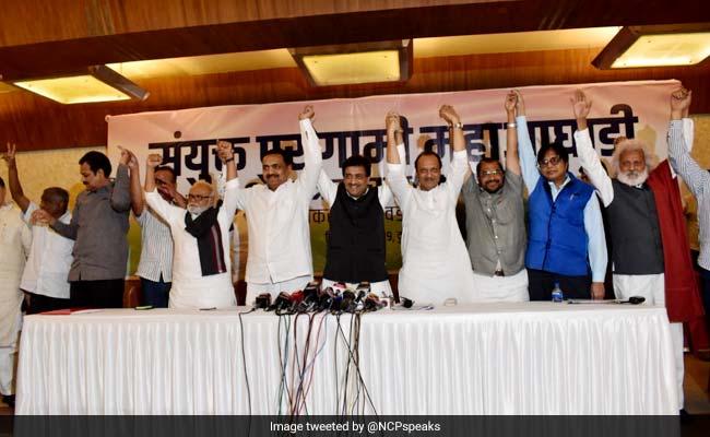 Congress, Sharad Pawar's NCP Announce Seat-Sharing Pact In Maharashtra