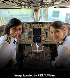 Mother-Daughter Co-Pilot Flight, Twitter Calls It Inspirational For Women