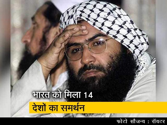 Videos : मसूद अजहर पर भारत को मिला 14 देशों का समर्थन: सूुत्र