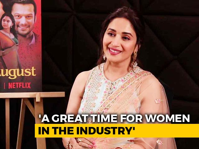 Spotlight: Madhuri Dixit On Films, Family, Women In The Industry, & More