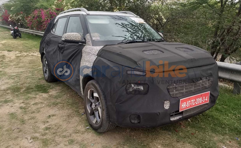 The Hyundai QXI has been spotted with some production ready elements.