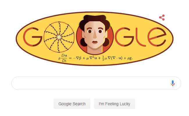 Google Celebrates Russian Mathematician Olga Ladyzhenskaya's 97th Birthday