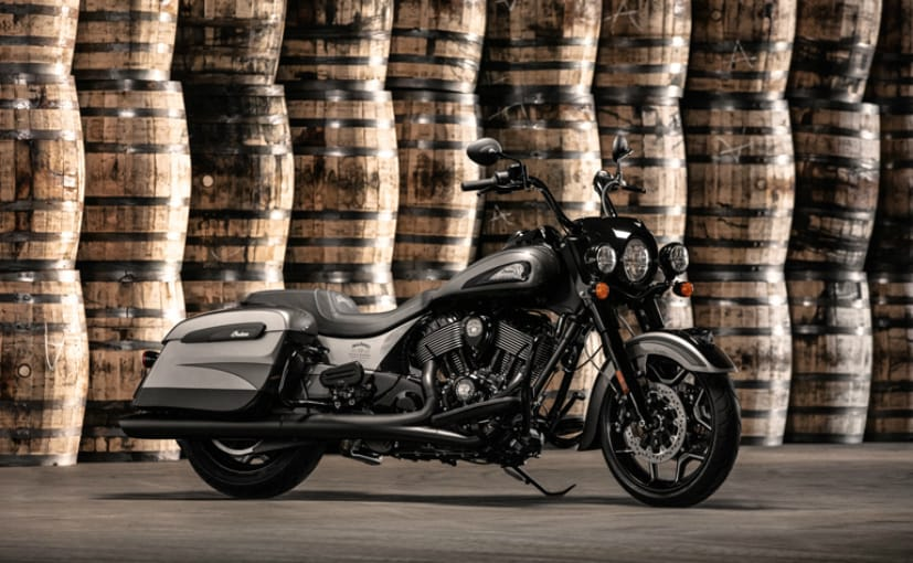 The Jack Daniel's Limtied Edition Indian Springfield Dark Horse gets custom styling