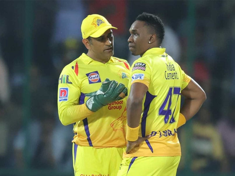 Dwayne Bravo Slams Critics Of Chennai Super Kings
