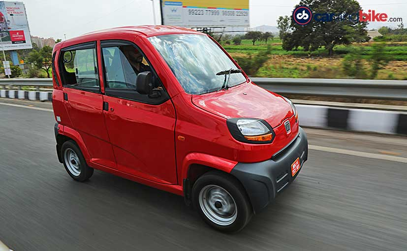 Bajaj will launch more variants of the Qute starting with an LPG version.
