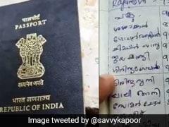 पत्नी ने पति के Passport को बना डाला टेलीफोन डायरेक्ट्री, लिख दिए रिश्तेदारों के नंबर