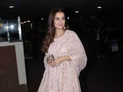 Make A Spring Style Statement Like Dia Mirza In A Pastel <i>Salwar Kameez</i>. 8 Stunning Options