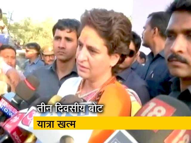 Video : पीएम मोदी के गढ़ में प्रियंका गांधी, कहा- लोगों का दुख-दर्द जानने आई