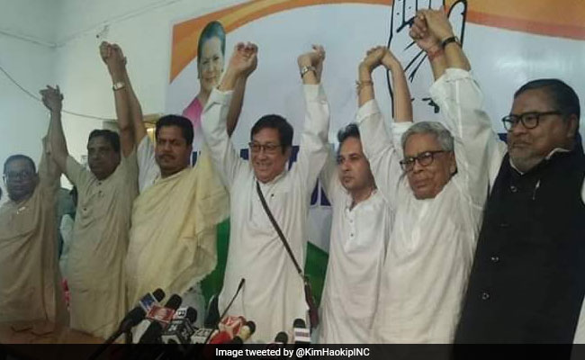 3 Tripura BJP Leaders, Including State Vice-President, Join Congress