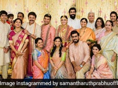 Venkatesh's Daughter Aashritha's Wedding: Samantha Ruth Prabhu Shares Pic Of Bride And Groom With Rana Daggubati And Others