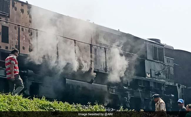 2 Dead As Chandigarh-Dibrugarh Express Catches Fire