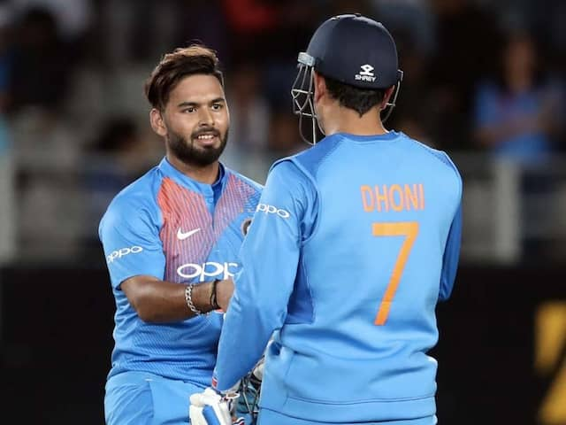 "Rishabh Pant Reveals How ""Mentor"" MS Dhoni Helps Him Solve Issues Without Giving Full Solution"