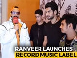 Video : Ranveer Singh On His Record Music Label INCINK