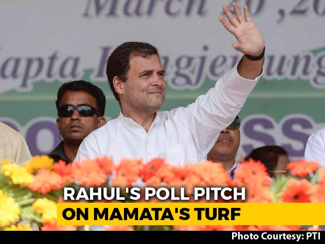 Rahul Gandhi To Address Rally In West Bengal Today