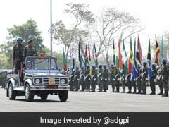 Indian Army Holds Military Exercise With 17 African Nations