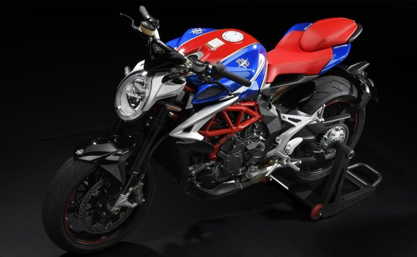 The MV Agusta Brutale 800 RR America is interestingly cheaper than the standard version.