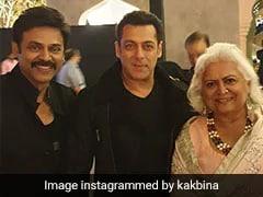 Salman Khan And Venkatesh Daggubati Dancing To <I>Jumme Ki Raat</I> At Aashritha's Jaipur Wedding Has A Real 'Kick' To It