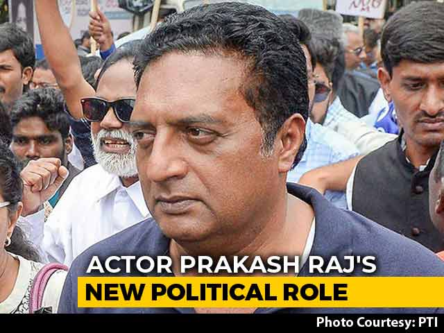 'Why The Pressure?' Prakash Raj On Whether He Will Divide Anti-BJP Votes