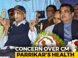 Video : BJP Rushes Leaders To Goa Amid Concerns Over Manohar Parrikar's Health