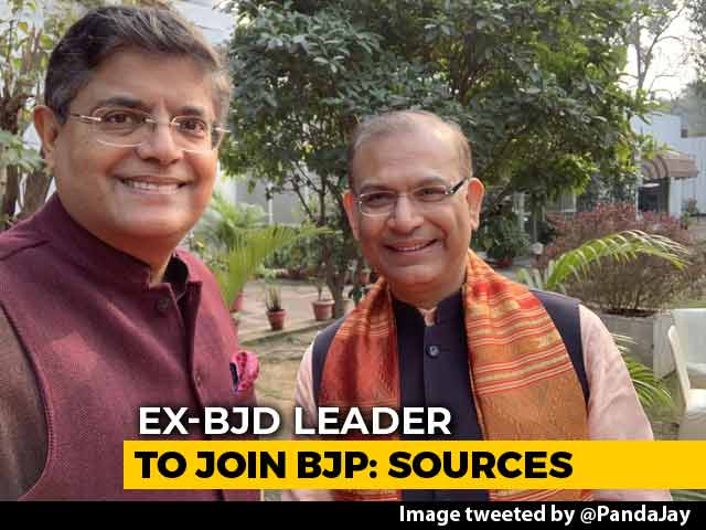 Video : Ex-Biju Janata Dal Leader Jay Panda To Join BJP Today: Sources
