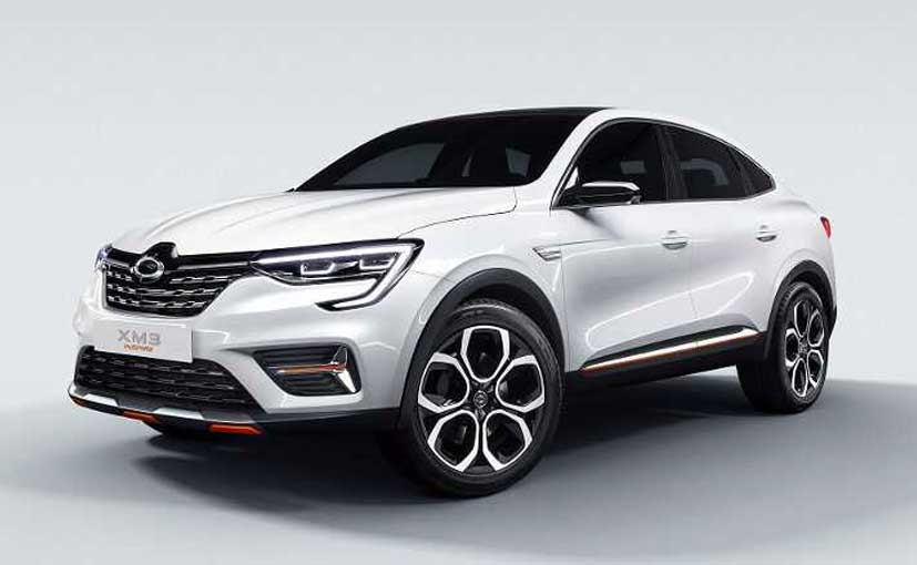 The Renault Samsung XM3 Inspire concept is inspired from the Akarna Show Car.