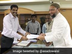 Asaduddin Owaisi Files Nomination From Hyderabad For Lok Sabha Elections