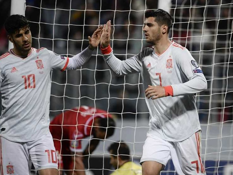 Euro Qualifiers: Alvaro Morata Double Gives Spain Victory Over Malta